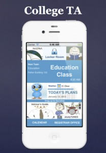 College TA for iPhone