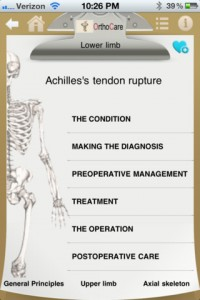 OrthoCare for iPhone