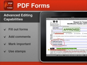 PDF Forms for iPad