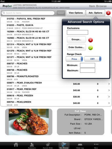 ProSel iPad App Review