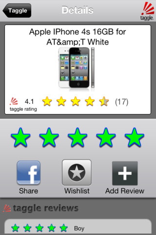 Taggle! iPhone App Review