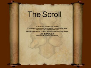 The Scroll for iPad
