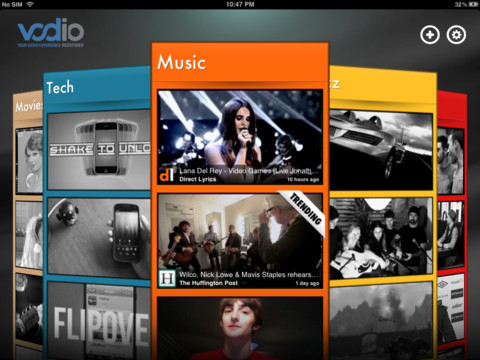 Vodio iPad App Review