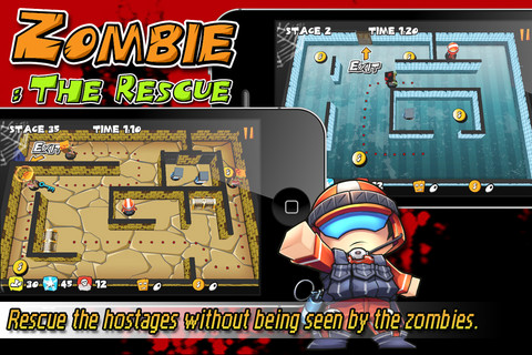 Zombie The Rescue iPhone App Review