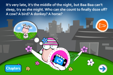 Baa Baa Counting Sheep iPhone App Review