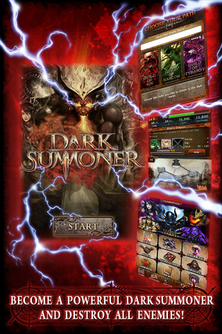 Dark Summoner iPhone App Review Dark Summoner: My Monster is Bigger Than Your's