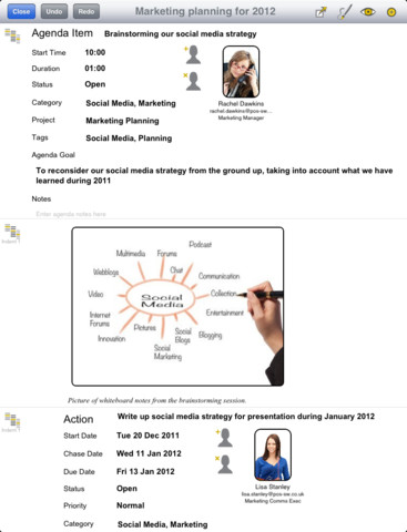 Meeting Gold iPad App Review