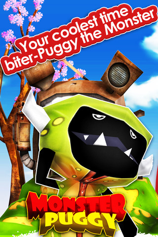 Puggy the Monster iPhone App Review