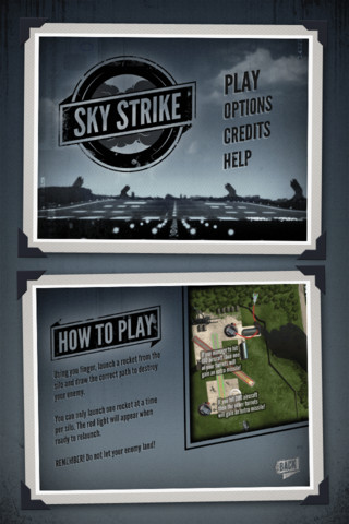 Sky Strike iPhone App Review
