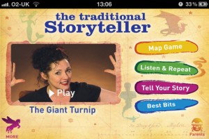The Traditional Storyteller for iPhone