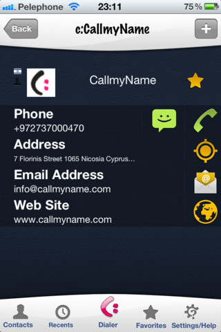 CallmyName iPhone App Review