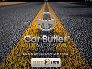 Car Butler HD for iPad