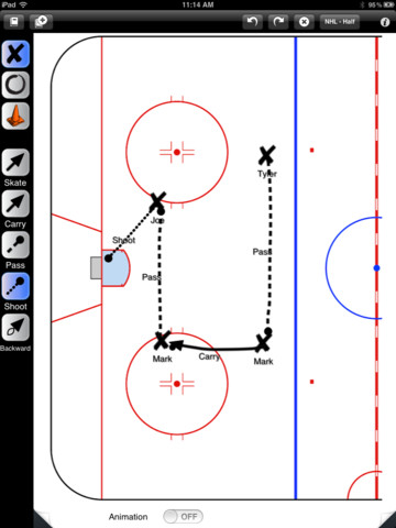 Coachable Hockey iPad App Review
