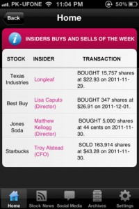 Investment Pro for iPhone