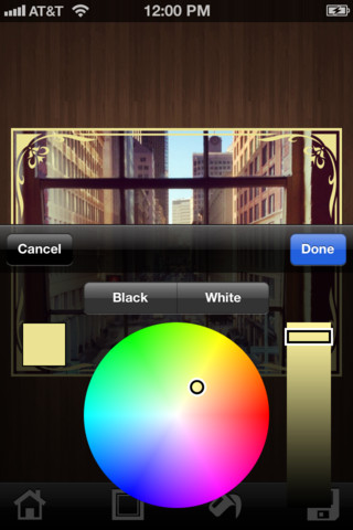 Photo Borders iPhone App Review