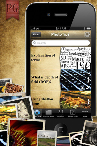 Photo Guide iPhone App Review