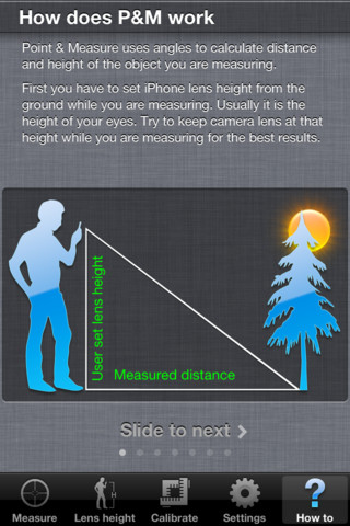 Point & Measure iPhone App Review