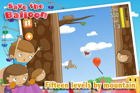 Save the Balloon iPhone App Review