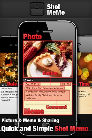 Shot MeMo iPhone App Review
