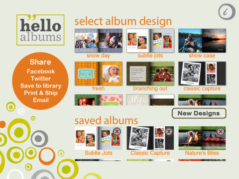 helloalbums iPad App Review