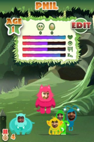 Friendly Beasties iPhone App Review