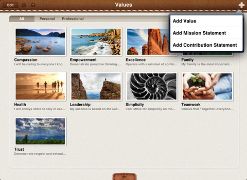 Inspire! Personal Productivity iPad App Review