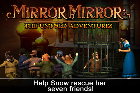Mirror Mirror The Untold Adventures iPhone App Review Offense Looks Good on Snow White in Mirror Mirror: The Untold Adventures