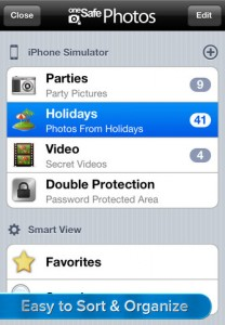 oneSafe Photos for iPhone