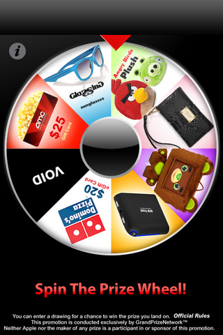 iOS Carnival Fun with Prize Wheel | TheiPhoneAppReview com