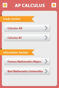 AP Calculus for iPhone