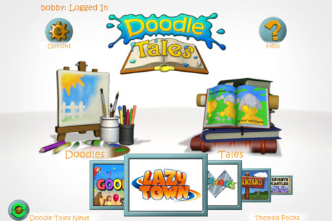 Doodle Tales iPhone App Review