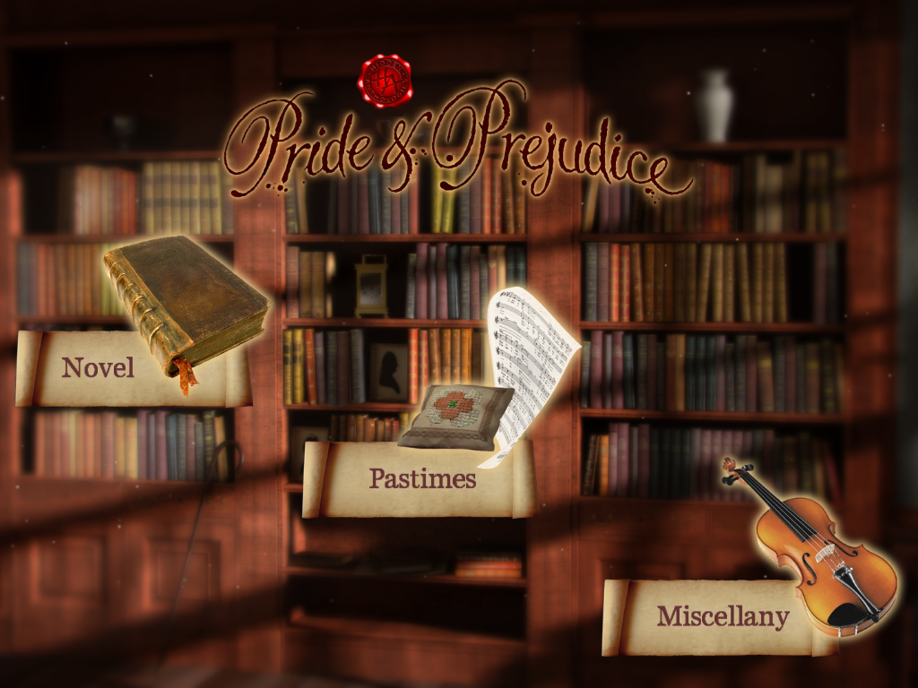 Hidden Anthologies: Pride and Prejudice iPhone App Review