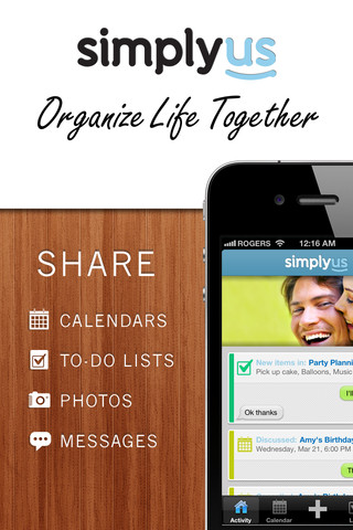 SimplyUs iPhone App Review