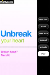 Unbreak Your Heart for iPhone
