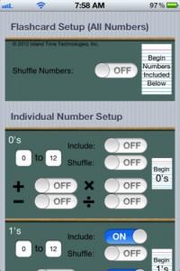 EZ Math Flashcards