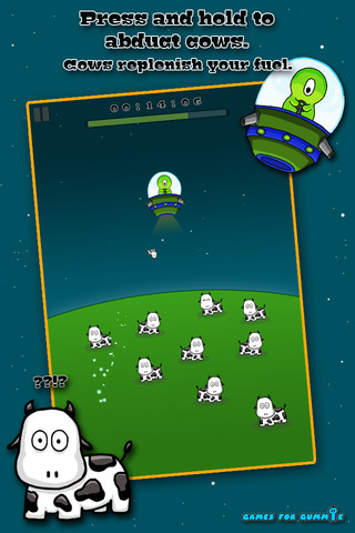Cow Abduct iPhone App Review