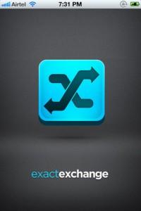 Exact Exchange for iPhone