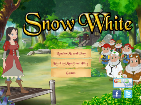 Snow White iPad App Review