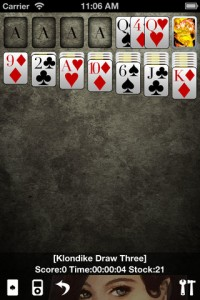 Solitaire * for iPhone