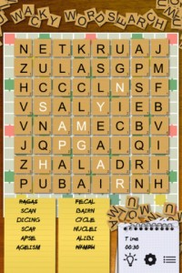 Wacky WordSearch Premium for iPhone