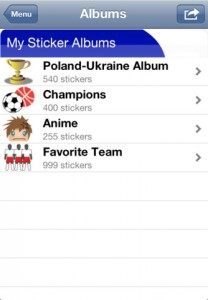 iSticker Albums for iPhone