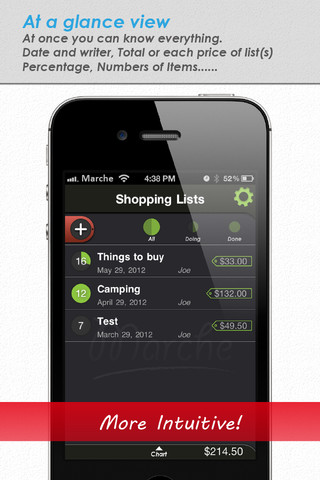 Grocery List - Marche iPhone App Review