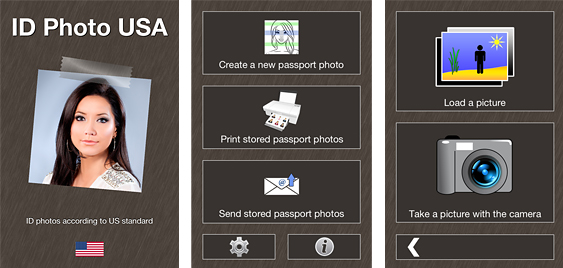 how to take a passport photo iphone