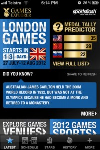London Games Explorer for iPhone