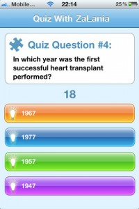Quizzer for iPhone