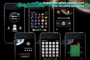 SpacePairs for iPhone