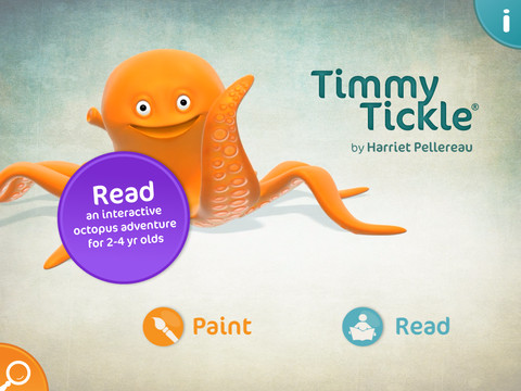 Timmy Tickle iPad App Review
