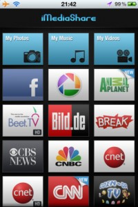 iMediaShare for iPhone