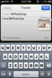 iPhotoCap for iPhone