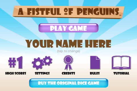 A Fistful of Penguins iPhone App Review